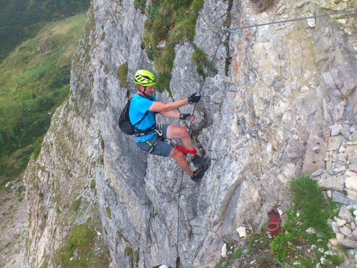 Klettersteig Gerlossteinwand : Klettersteig gerlossteinwand